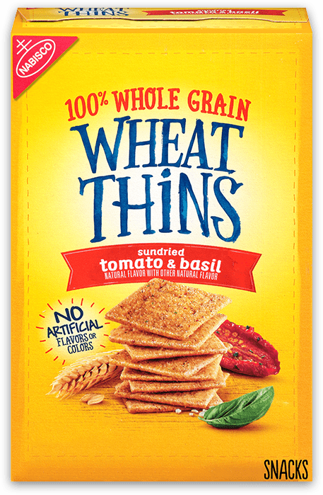 Wheat Thins Sundried Tomato and Basil Whole Grain Wheat Crackers
